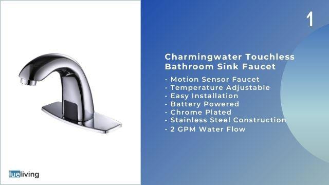 motion sensing faucet