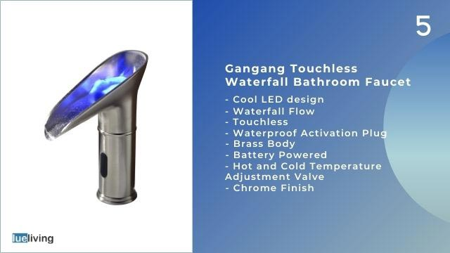 best touchless bathroom faucets 2021