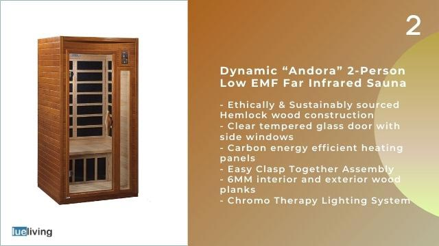 best infrared sauna 2021